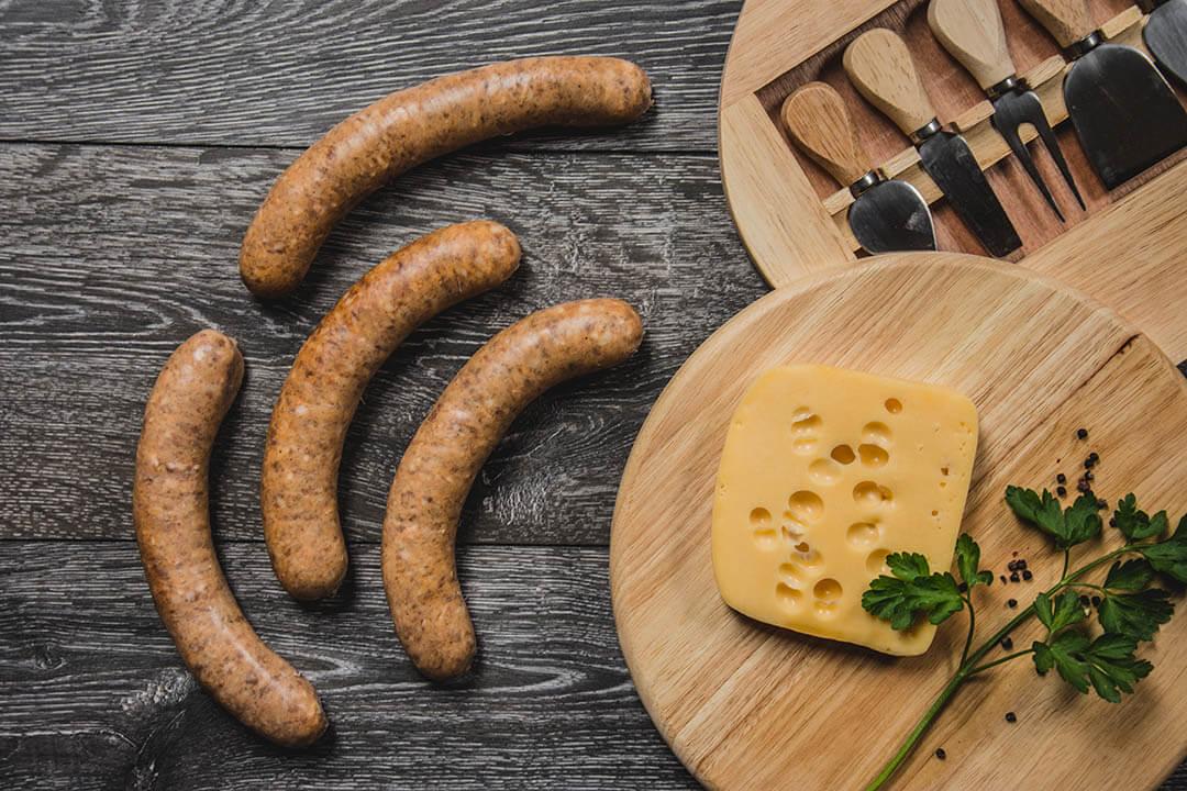Várvölgyi sajtos sütnivaló kolbász